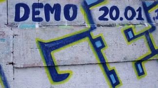 KULTURFORUM Klagemauer Graffiti (3)