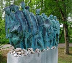 Hubertus von Pilgrim 'Todesmarsch'-Skulptur Grünwald (6)