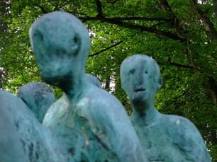 Hubertus von Pilgrim 'Todesmarsch'-Skulptur Grünwald (9)