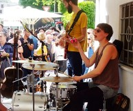 THE MOONBAND @ Straßenfest Glockenbachwerkstatt München 2015-05-10 (6)