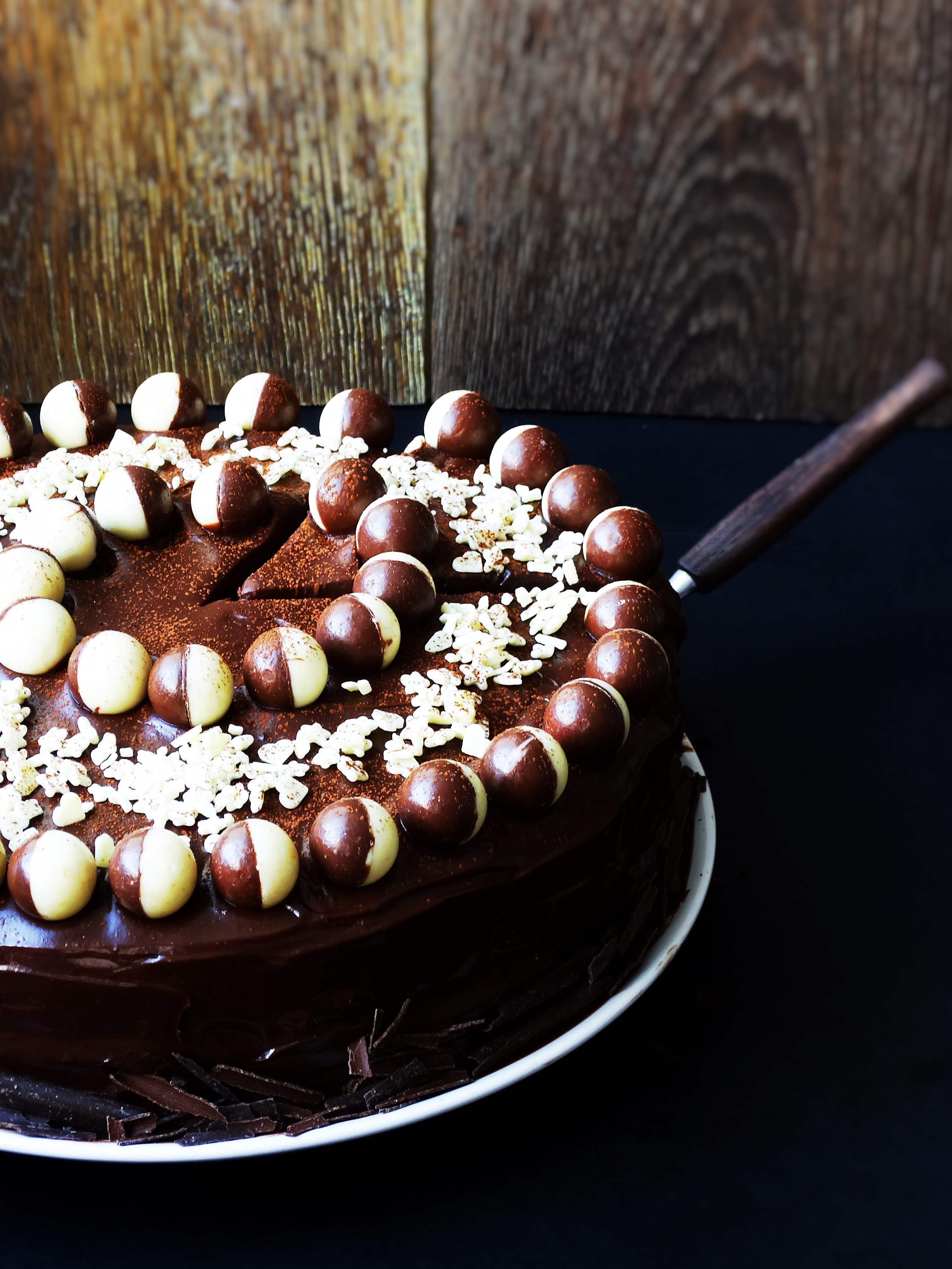 triple chocolate cake junnekesrecepten.be