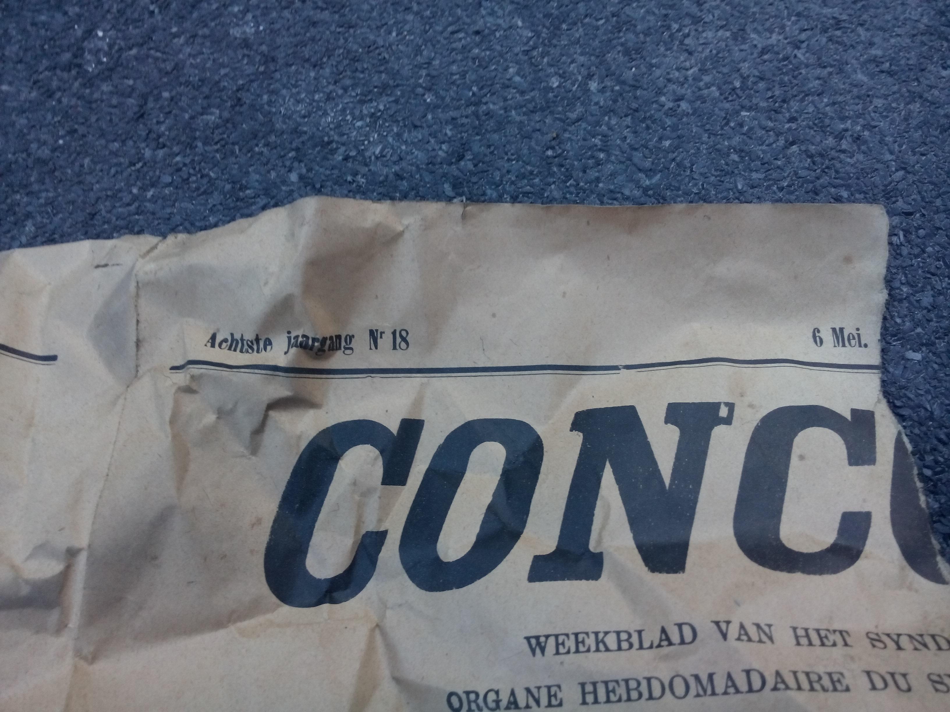 krant vloer datum