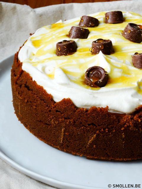 Recept van de maand #38: Gebakken karamelcheesecake met speculoosbodem