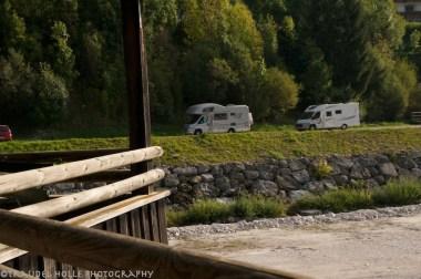 campsite in Auronzo
