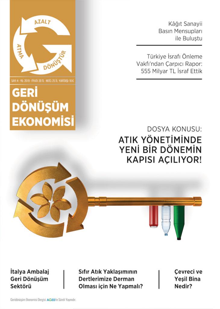 Geri Dönüşüm Ekonomisi Dergisi Sayı 4