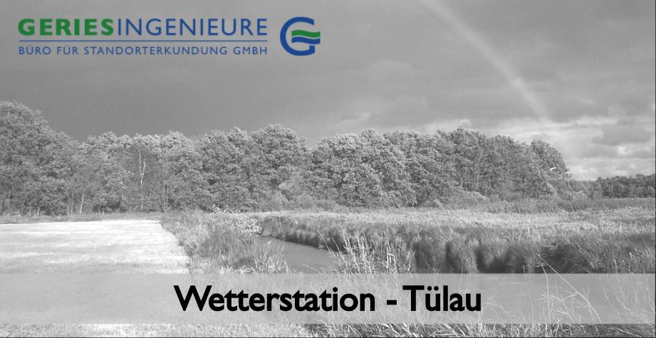 Wetterstation Tülau