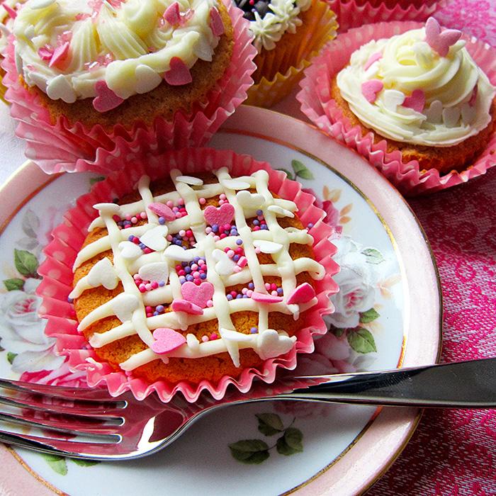 Cup cakes / 16-ти рожден ден с капкейкс рецепта