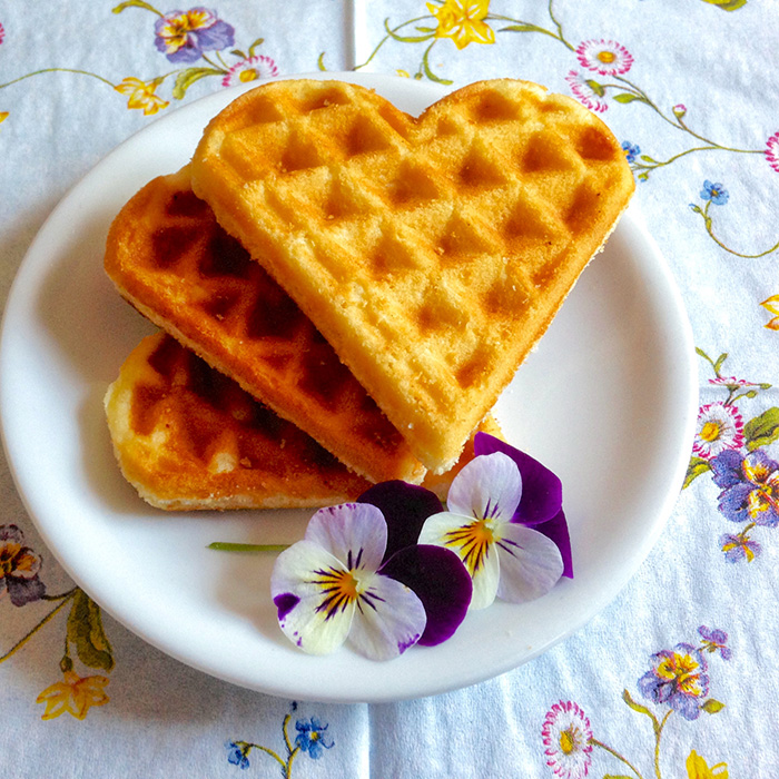Belgian waffles recipe / Класически Белгийски Гофрети рецепта