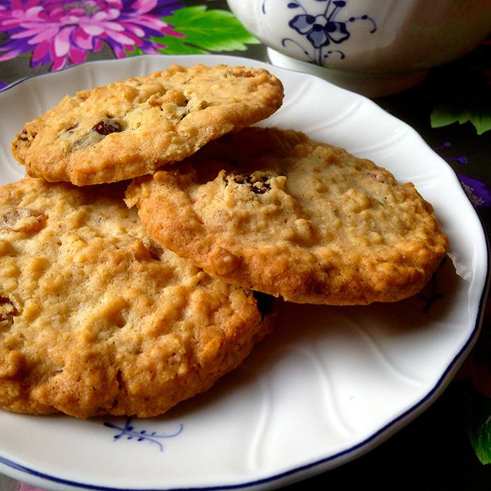 Oatmeal Cookies / Бисквитки с овесени ядки рецепта