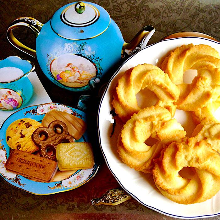Danish Vanilla Cookies / Ванилови Бисквитки от Дания рецепта