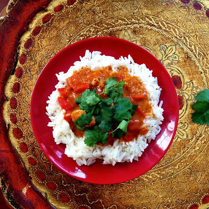 indian / Индийско Къри със Свинско Филе рецепта