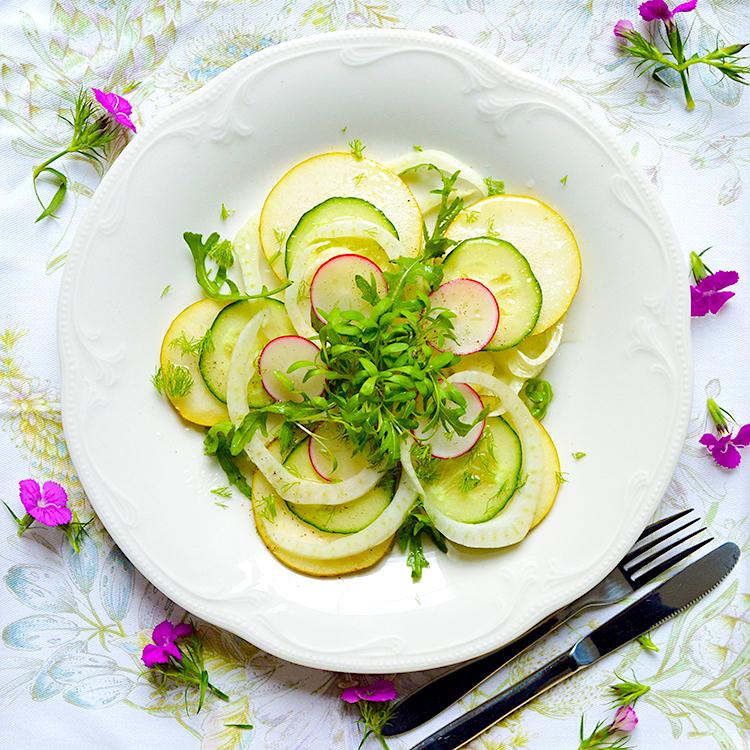 Fennel_Salad recipe / Салата от Круша & Резене рецепта