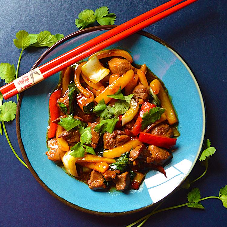 Thai-style duck stir-fry recipe / Стър-Фрай Уок с Патешки Гърди рецепта