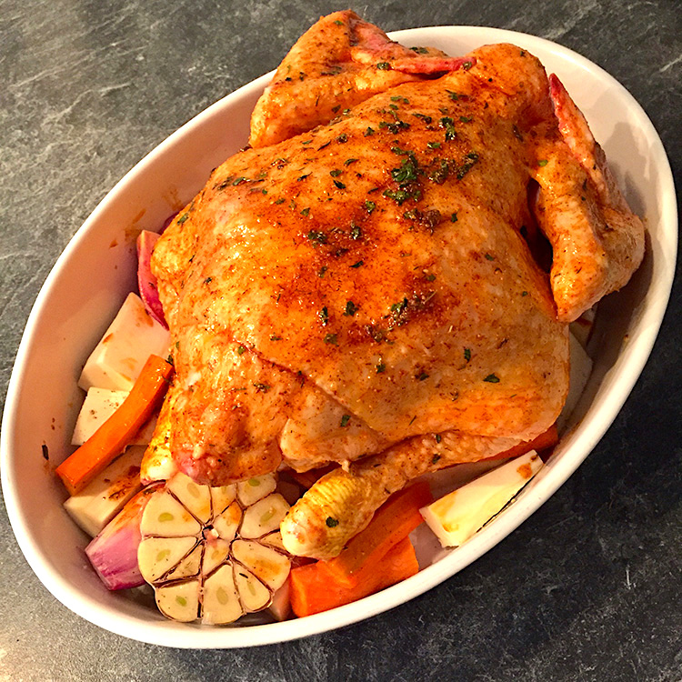 roast chicken / Печено Пиле рецепта