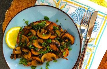 Mushroom Toast Recipe
