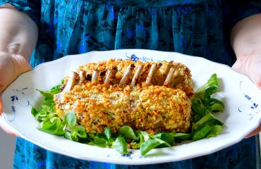 Великденски агнешки ребърца - Rosemary Crust Rack of Lamb