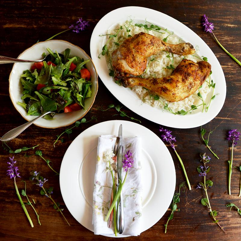 Rustic Farm Chic ken Legs recipe