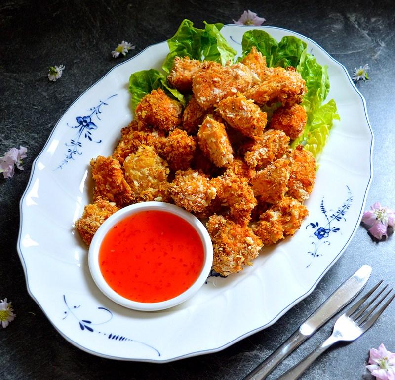 Chicken nuggets / Панирани пилешки хапки