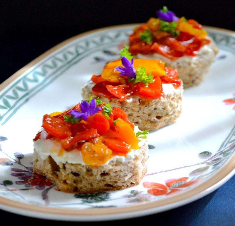 Roasted Pepper Sandwiches