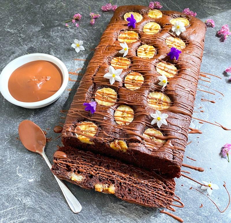 Chocolate Banana Bread / Шоколадов Бананов Хляб