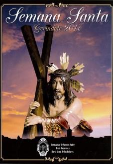 Cartel Semana Santa Gerindote 2017
