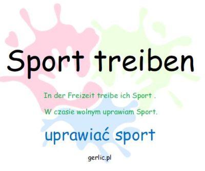Sport treiben