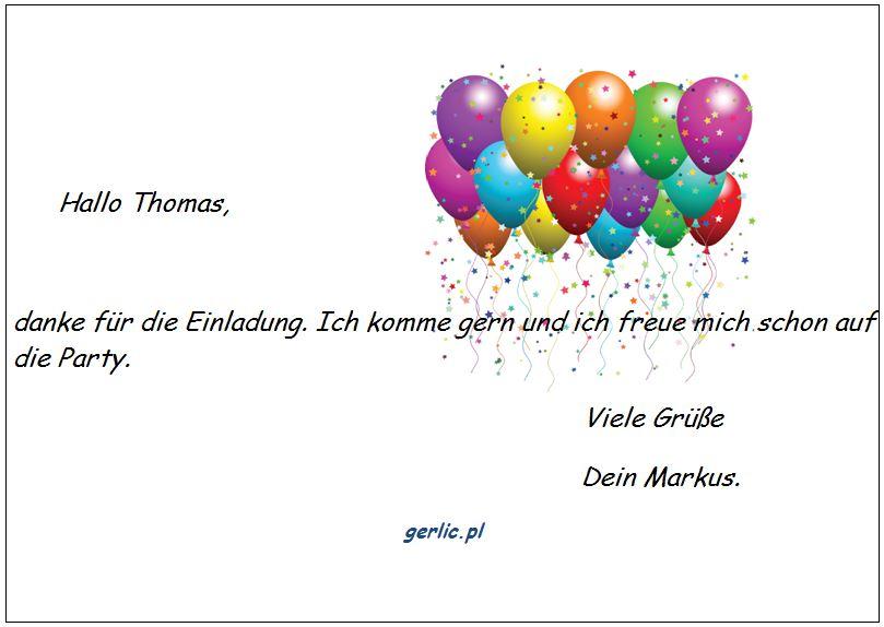 lekcja 17 – einladung – zaproszenie | aki arkadiusz gerlic - język, Einladung