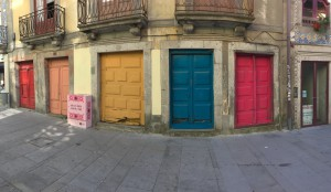 The city is very colourful