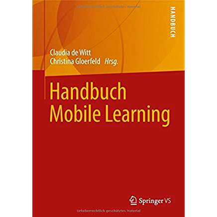 Handbuch Mobile Learning Cover