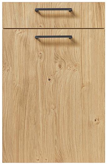 schuller german kitchen cardiff rocca wooden effect kitchen light knotty oak