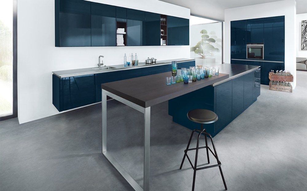 Premium German Kitchen Design Studion Cardiff - Next 125 NX901 - Glass High Gloss (2)