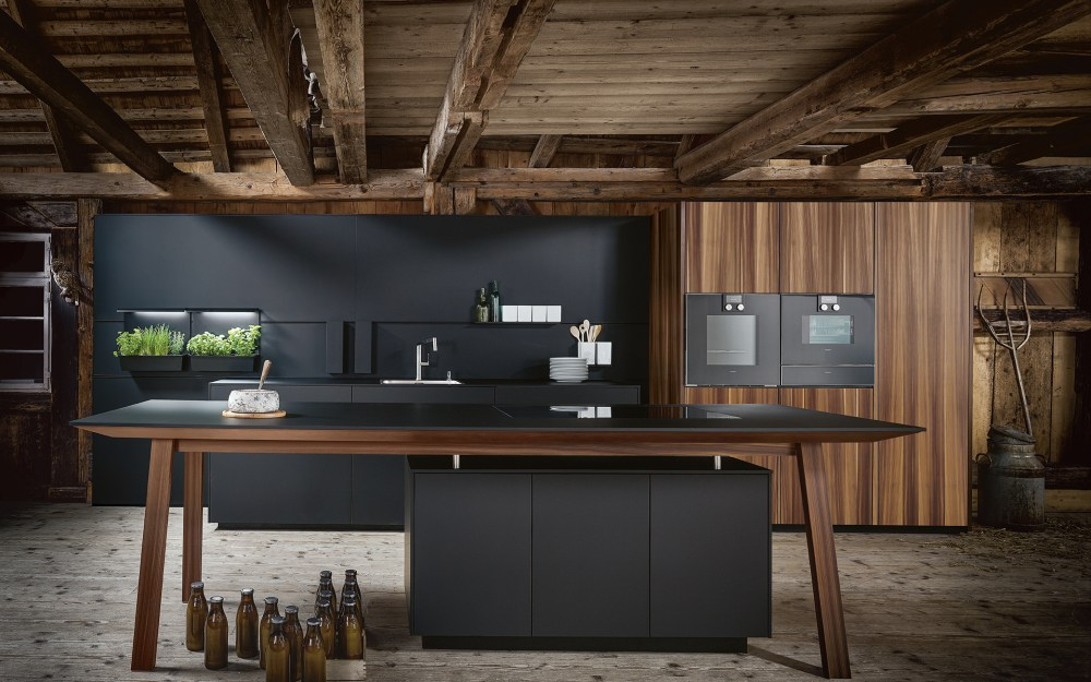 NX650 - Real Wood Veneer - German Kitchen Design Studio Cardiff