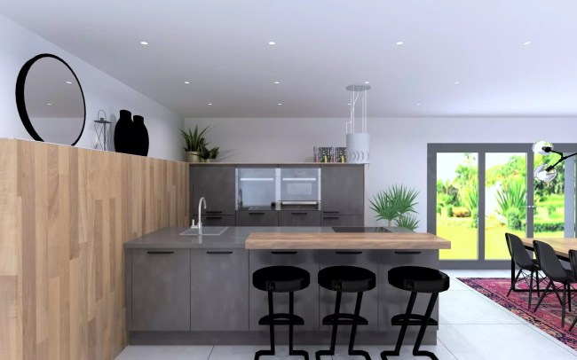 Schüller Kitchen Complete With Worktops & Appliances - £10,200