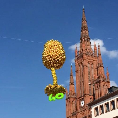 Die Rheingauer Weinwoche in Wiesbaden feierte dieses Jahr 40. Geburtstag!