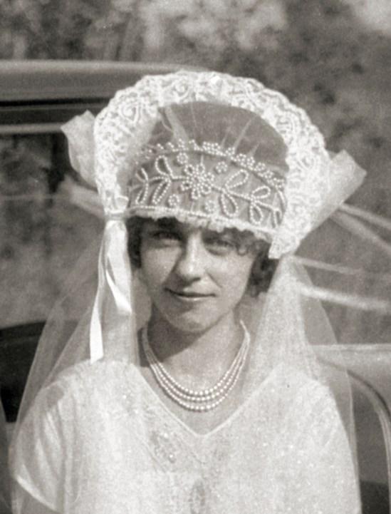 Renata, wedding day of Lueder's eldest daughter, Oct. 20, 1927