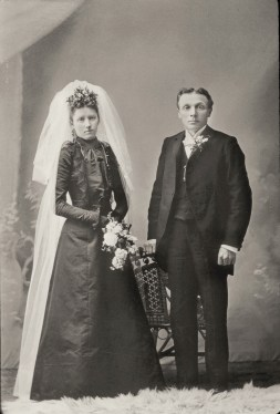 Martha Lueder and Willie Mueller