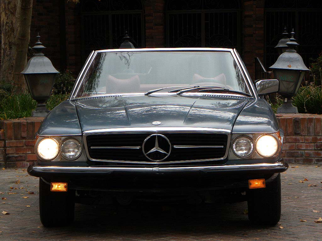1977 Mercedes-Benz 280SL 5-speed Manual