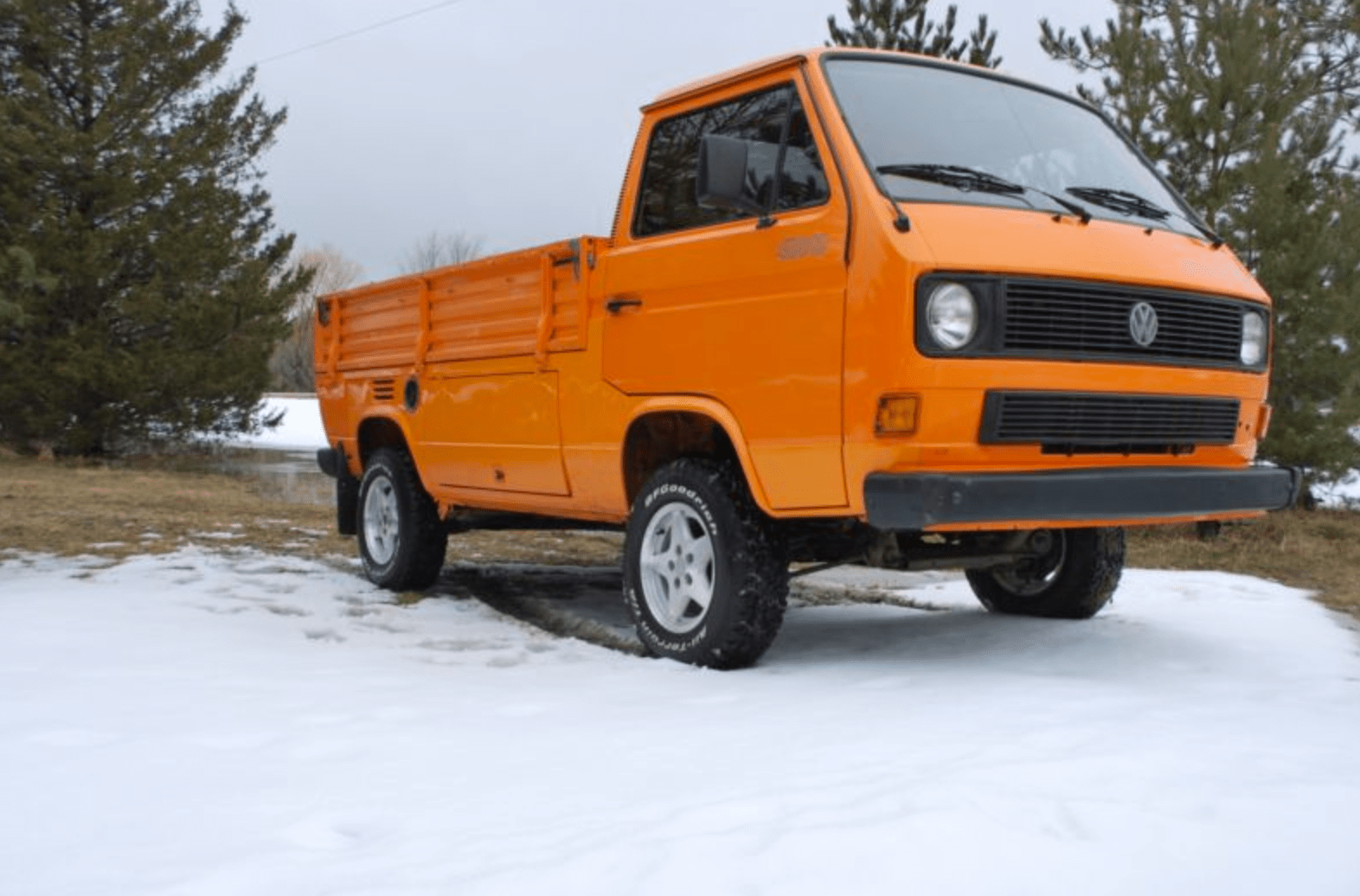 1990 Volkswagen Transporter Single Cab Turbo Diesel