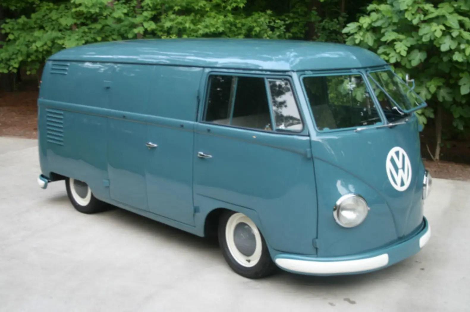 1953 Volkswagen Type 2 Panel Van – German Cars For Sale Blog