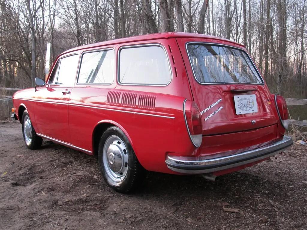 1973 volkswagen type iii squareback german cars for sale. Black Bedroom Furniture Sets. Home Design Ideas