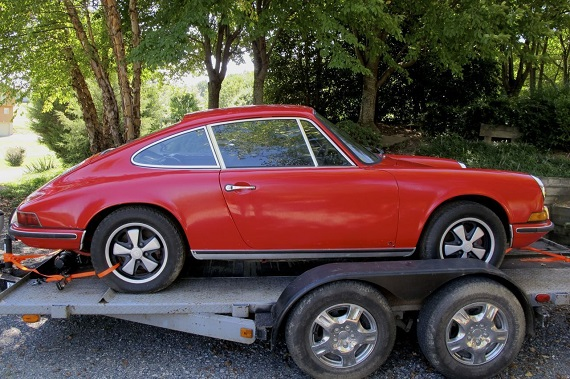 barn find 1971 porsche 911t german cars for sale blog With barn auto sales