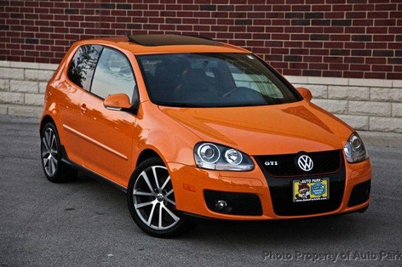 volkswagen gti fahrenheit edition german cars  sale blog