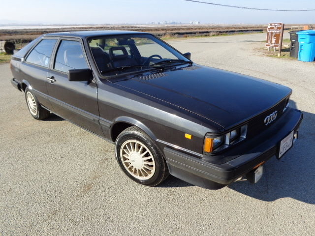 1983 audi coupe gt german cars for sale blog. Black Bedroom Furniture Sets. Home Design Ideas