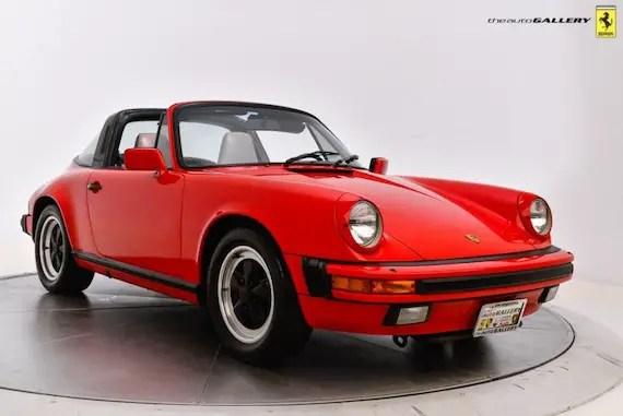 3 2 preservation 1986 porsche 911 carrera targa 1988 911 carrera coupe german cars for sale. Black Bedroom Furniture Sets. Home Design Ideas