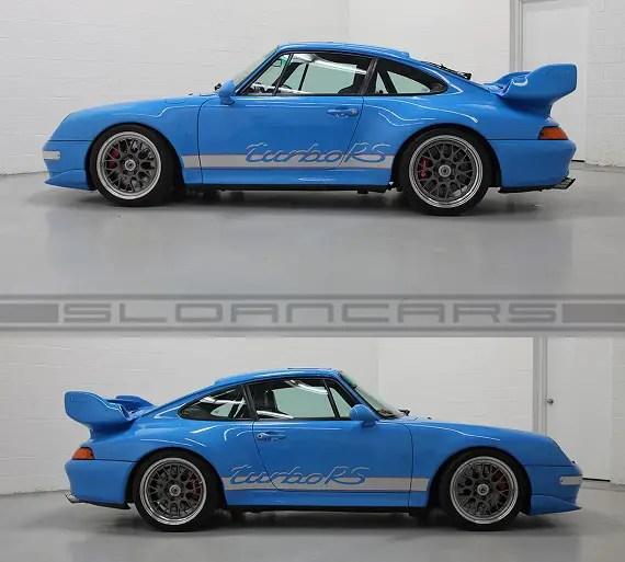 "Porsche 993 Turbo: 1997 Porsche 993 Turbo ""RS"""