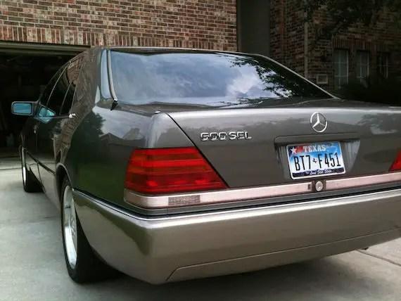 Clean 1992 Mercedes 600sel Good Per Cylinder Ratio