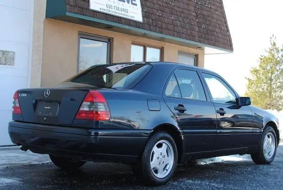 1996 Mercedes Benz C280 Sport German Cars For Sale Blog
