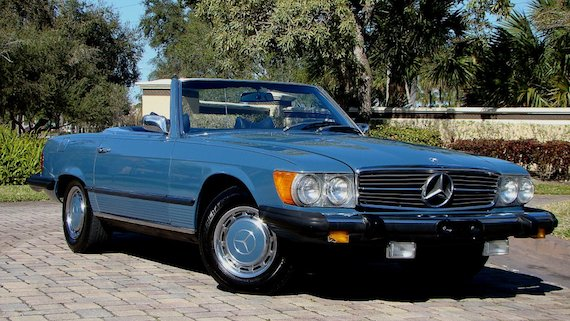 1976 Mercedes Benz 450sl German Cars For Sale Blog