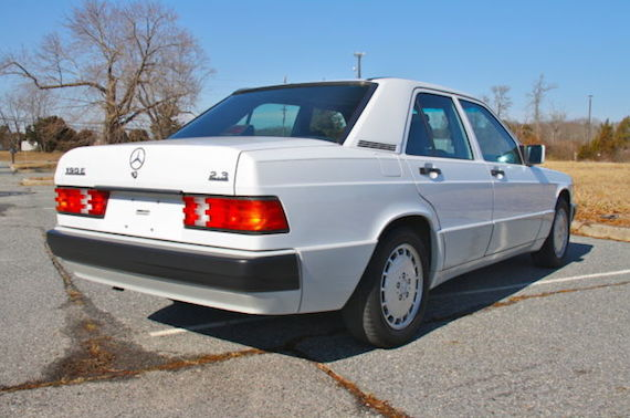 1993 mercedes benz 190e 2 3 revisit german cars for for Mercedes benz 190e cosworth for sale