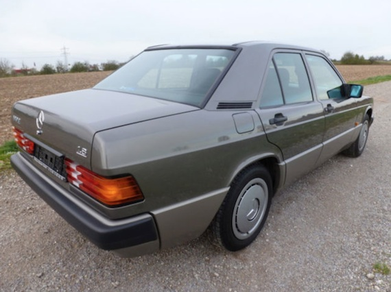 f5f15ca40d Economy With A Touch Of Class  The Four Cylinder 190E – German Cars For  Sale Blog
